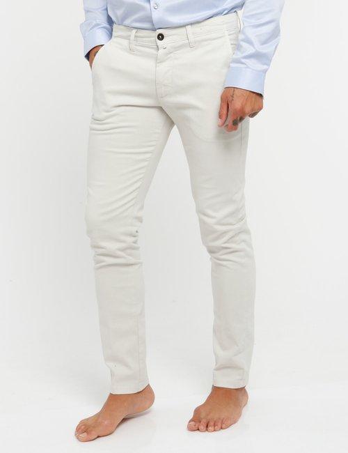 Pantalone Asquani con tasche - Beige