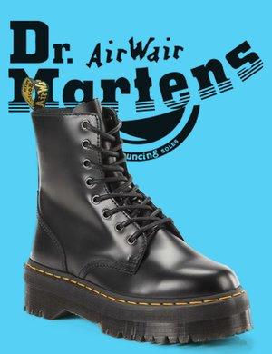 Anfibio Dr. Martens Jadon polished smooth