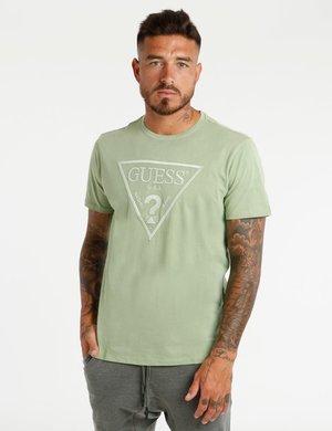 T-shirt Guess con logo ricamato