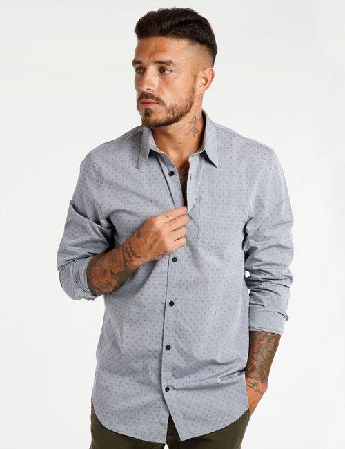 Camicia Guess in cotone - Grigio