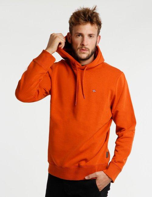 Felpa Napapijri con cappuccio - Arancione