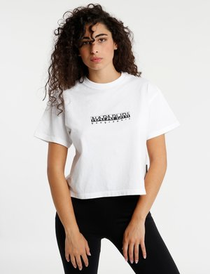 T-shirt Napapijri cropped