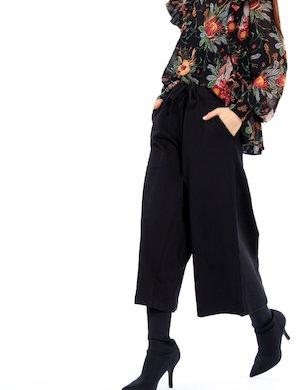Pantalone felpa ampio