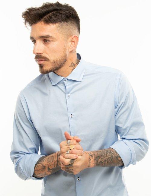 Camicia  Belmonte elegante - Azzurro