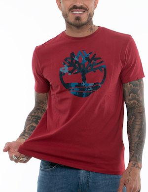 T-shirt Timberland con logo centrale