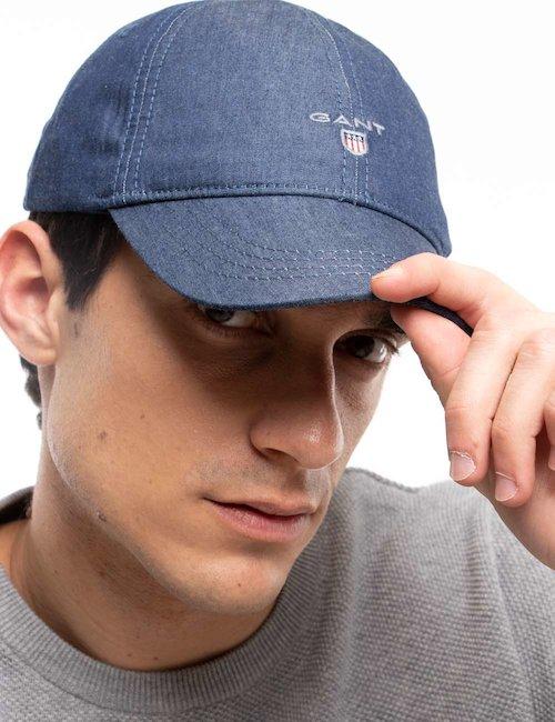Cappello  Gant da baseball jeans - Jeans