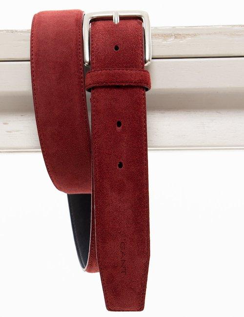 Cintura Gant in pelle scamosciata - Ruggine