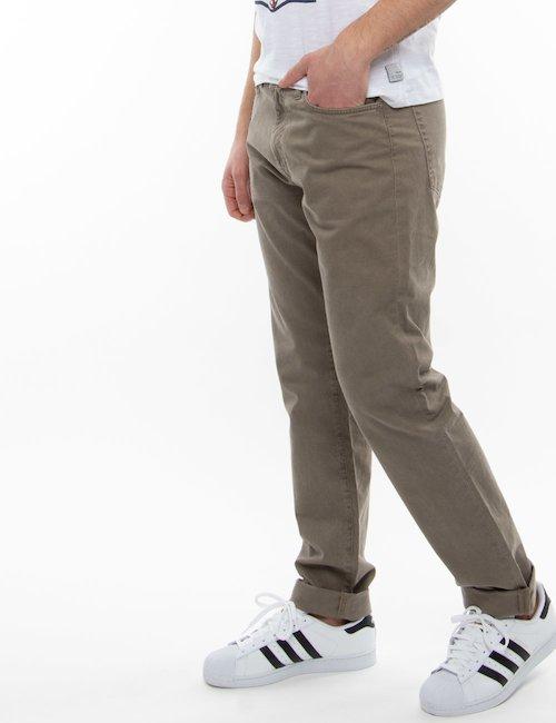 Pantalone Gant cinque tasche - Nocciola