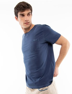 T-shirt Gant in cotone con taschino
