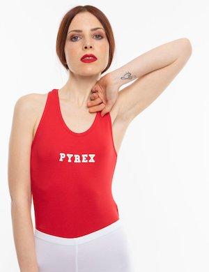 Body  Pyrex in cotone elasticizzato