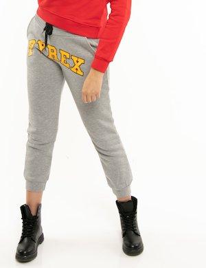 Pantalone Pyrex con logo centrale
