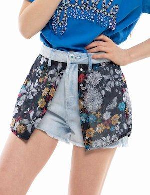 Shorts Desigual di jeans