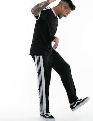 Pantalone Adidas con bottoni laterali