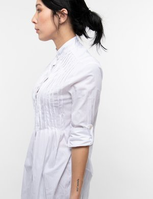 Camicia Vougue con plissè