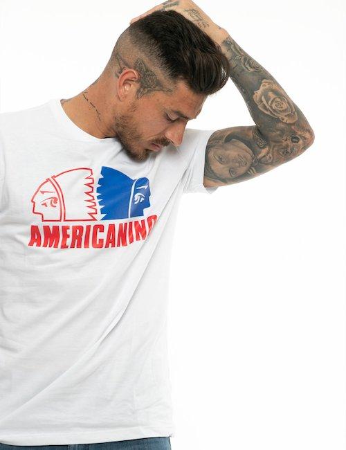 T-shirt Americanino in cotone - White