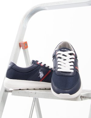 Sneakers U.S. Polo Assn. in ecopelle