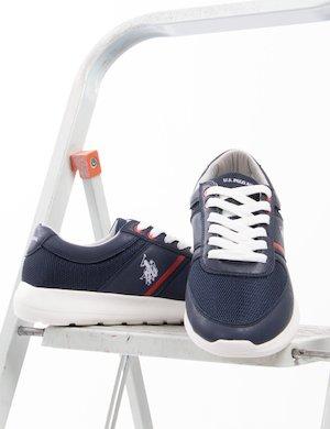 Sneakers U.S. Polo Assn. in ecopelle