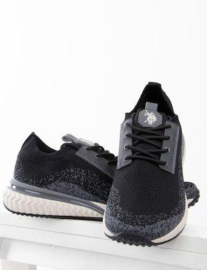 Sneakers U.S. Polo Assn. in tessuto a maglia