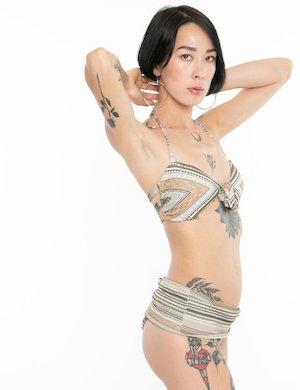 Costume F**K bikini allacciatura centrale