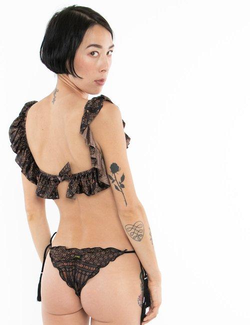Costume F**K bikini volant - Fantasia