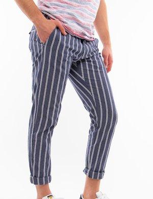 Pantalone Gianni Lupo a righe