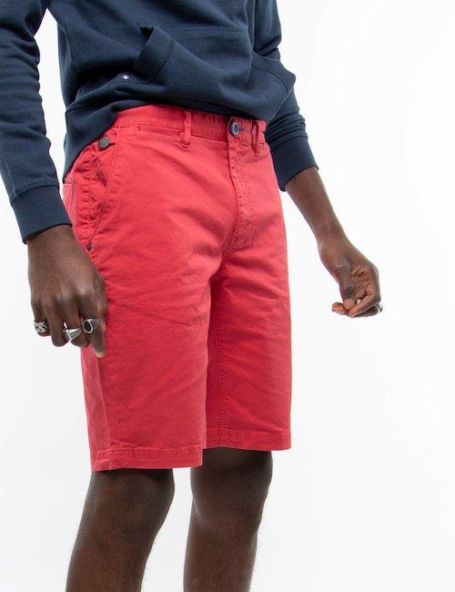 Bermuda  Fred Mello con tasche - Red_Purple