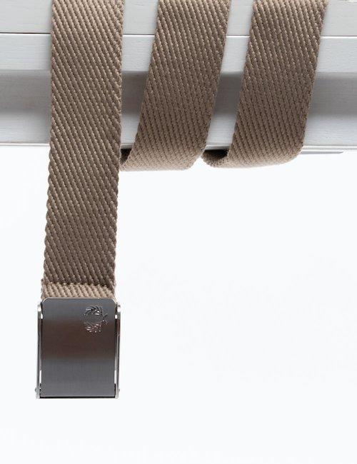 Cintura Fred Perry in tessuto - Beige_Orange