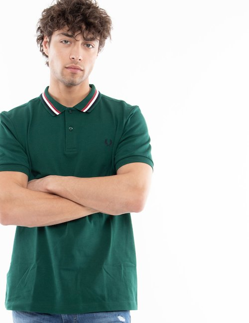 Polo  Fred perry manica corta - Green