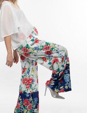Pantalone Fracomina a fiori