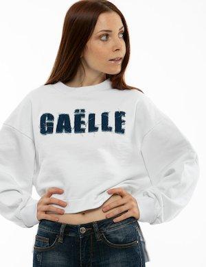 Felpa GAeLLE con logo jeans