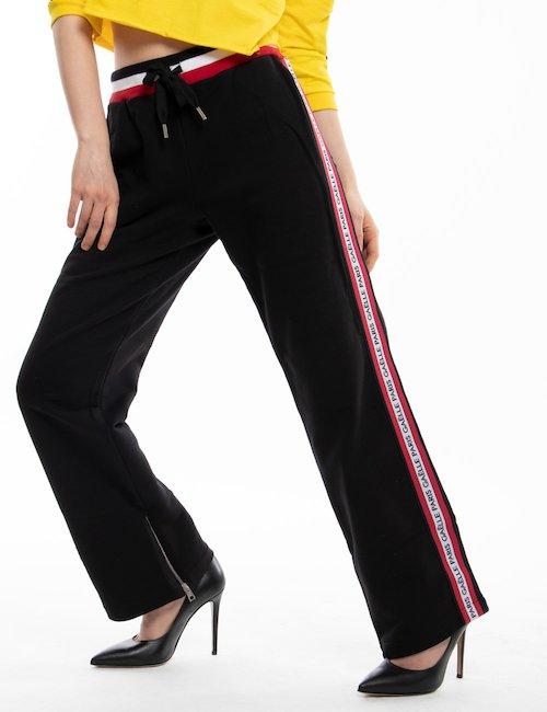 Pantalone GAeLLE Paris sportivo - Black_Turquoise