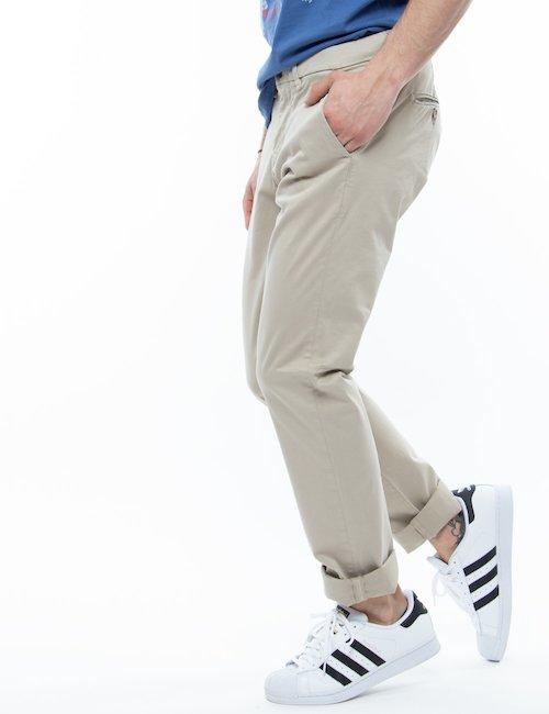 Pantalone Guess in cotone - Beige