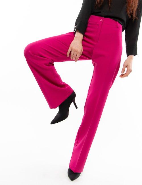 Pantalone Vougue elegante - Fucsia