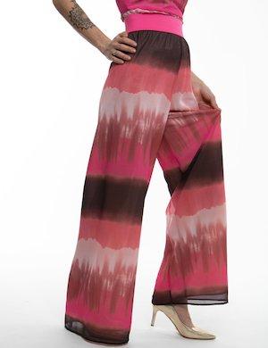 Pantalone TOY G sfumato con fascia elastica