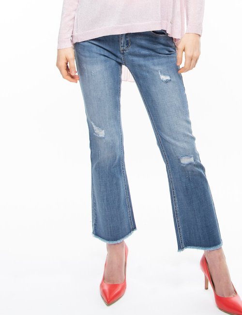 Jeans Yes Zee distressed - Jeans