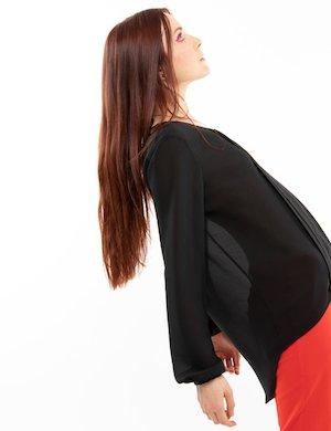 Blusa  Vougue con plissè