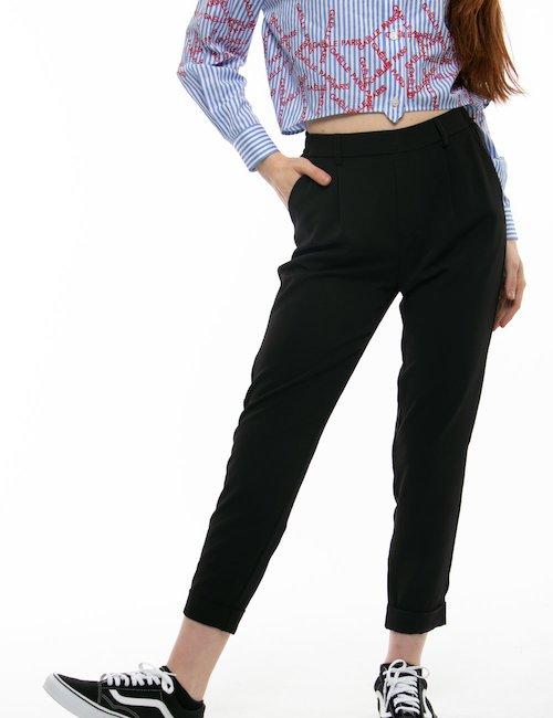 Pantalone TOY G elegante - Nero