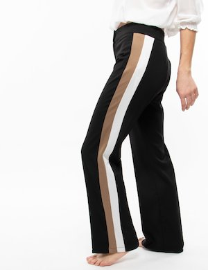 Pantalone Vougue ampio con bande