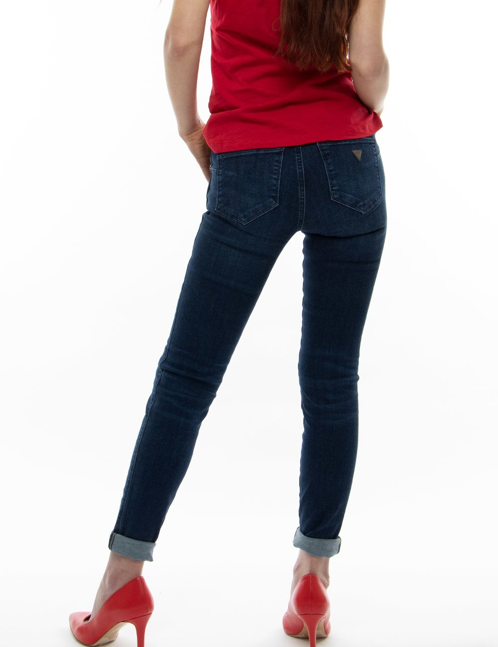 Guess jeans guess skinny jeans secondastrada neri jeans