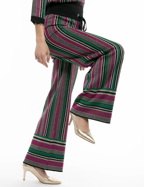Pantalone TOY G a righe - Fantasia