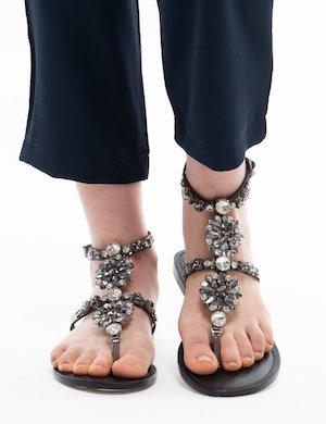 Sandalo Cafè Noir infradito gioiello