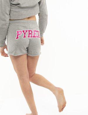 Shorts Pyrex con maxi logo