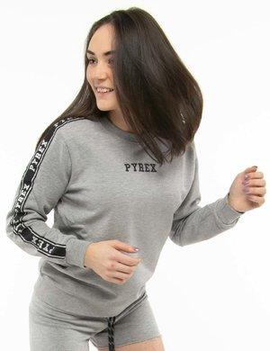 Felpa Pyrex con bande laterali