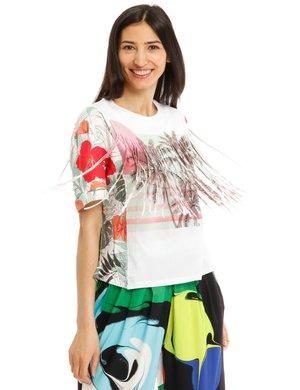 T-shirt Desigual con frange