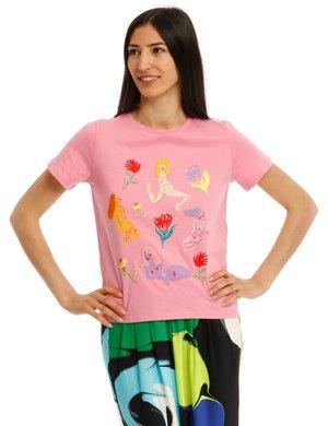 T-shirt Desigual con applicazioni