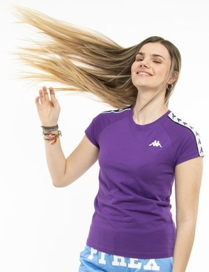 T-shirt Kappa con bande laterali