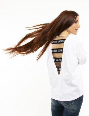 Felpa Kappa con maxi logo