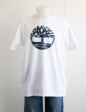 T-shirt Timberland con logo colorato