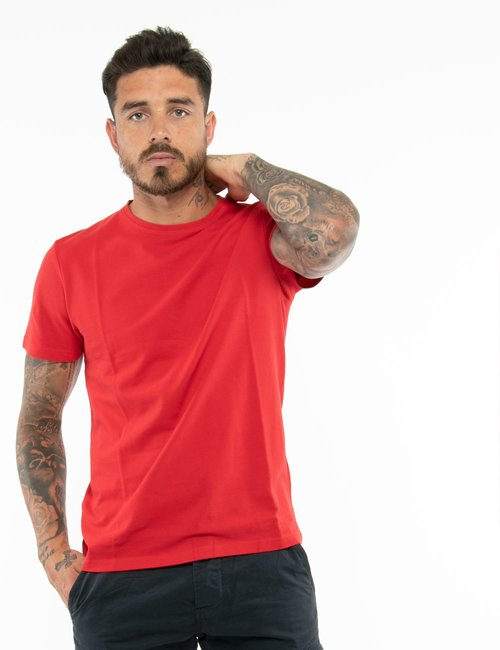 T-shirt AFF in cotone - Rosso