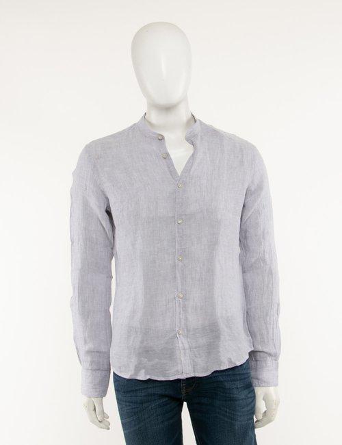 Camicia Yes Zee in lino - Grigio
